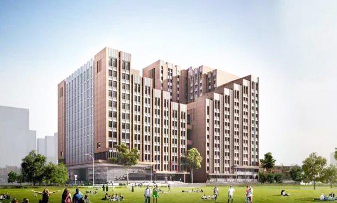 广西建设学院宿舍楼
